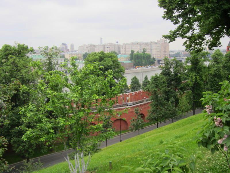 25 Moscou vue du Kremlin