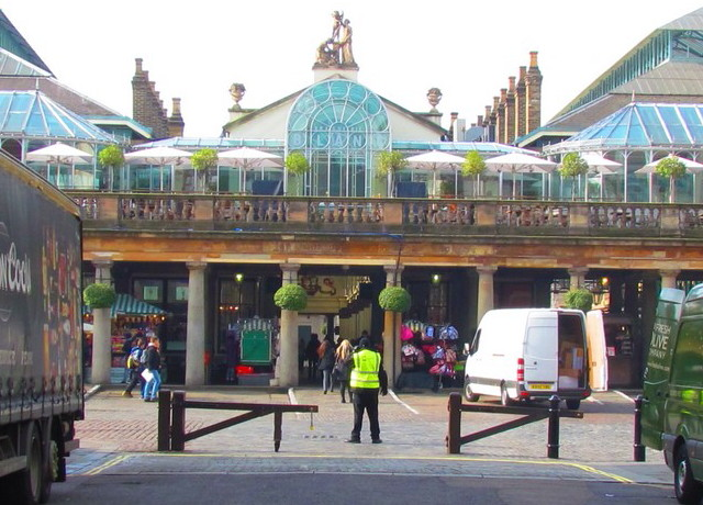 London Covent Garden marché central