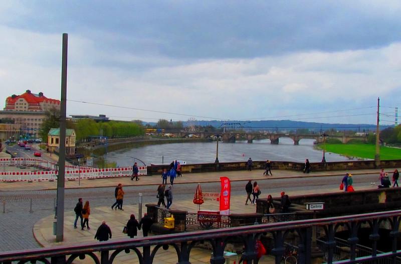 Dresde ponts sur l'Elbe