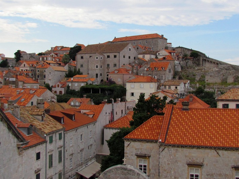 Dubrovnik tuiles de Toulouse