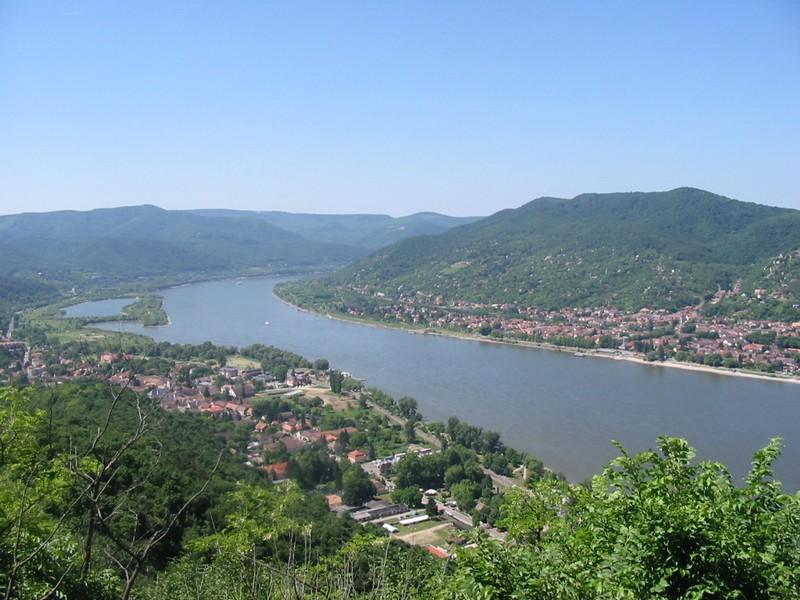 Hongrie Danube  Vizegerad