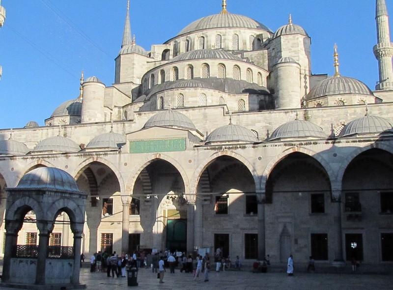 Istanbul moquée bleue