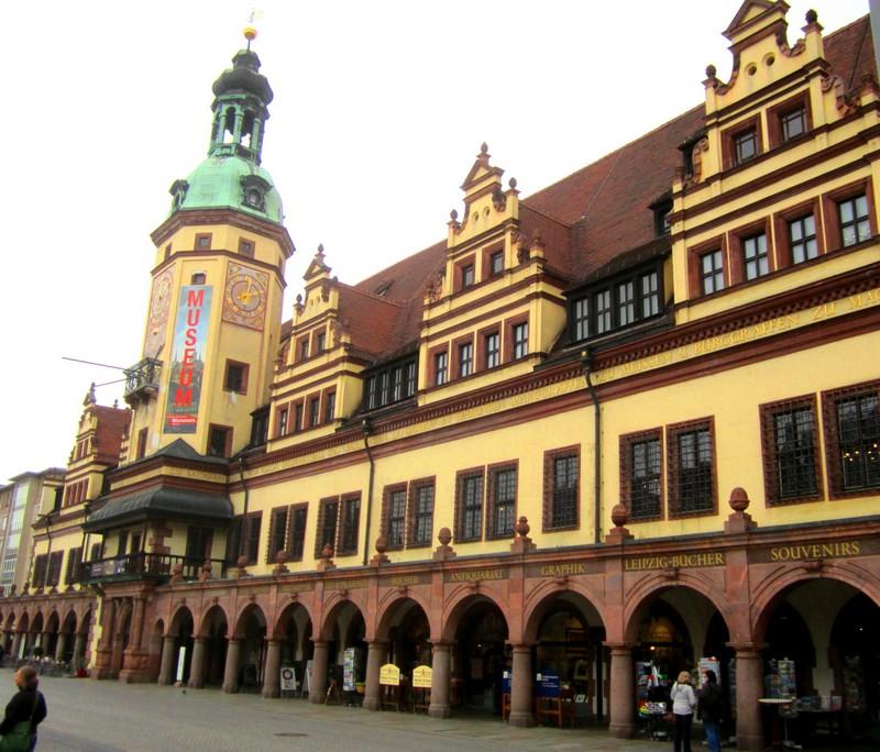 Leipzig Ancien Hôtel de Ville