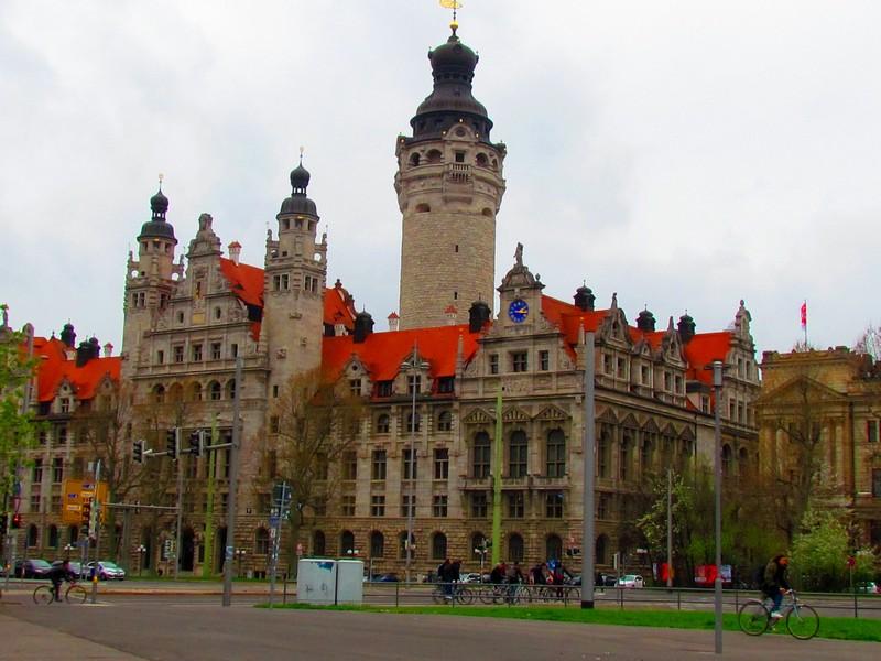 Leipzig  Nouvel Hôtel de Ville
