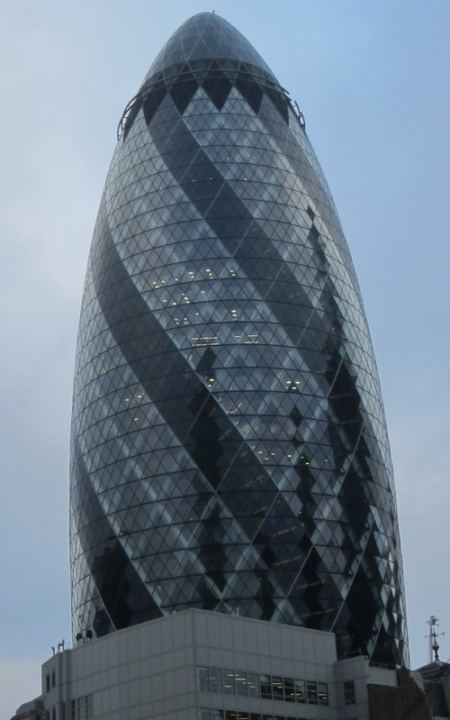 London RE Gurkin Tower