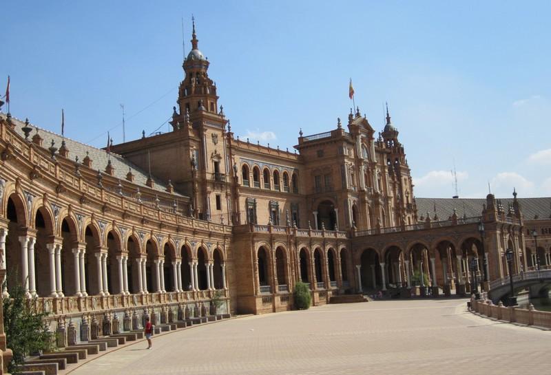 Séville place d' Espagne