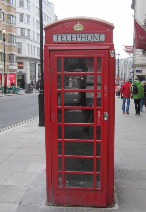 London téléphone à Piccadily