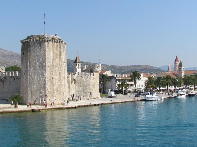 Trogir port et citadelle