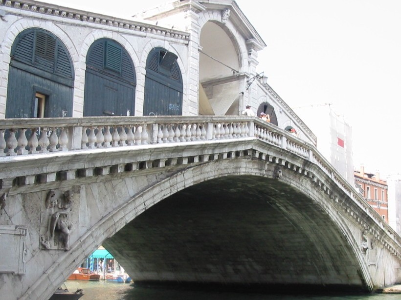 Venise  Pont Rialto
