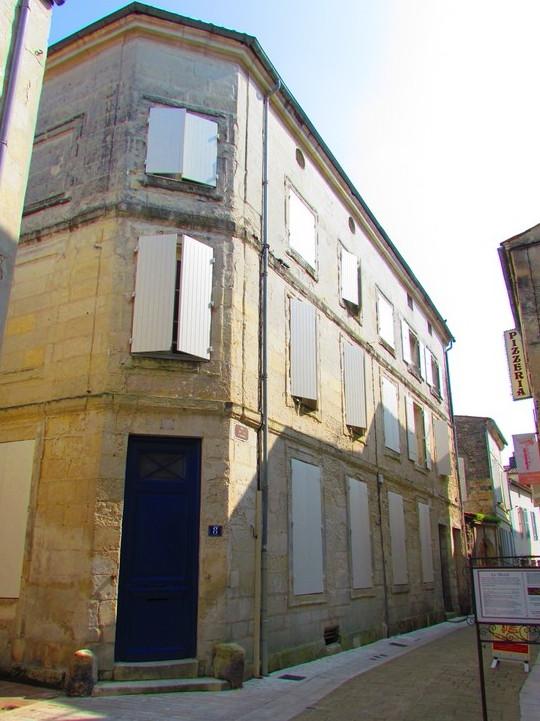 012 Saintes rue de la comédie