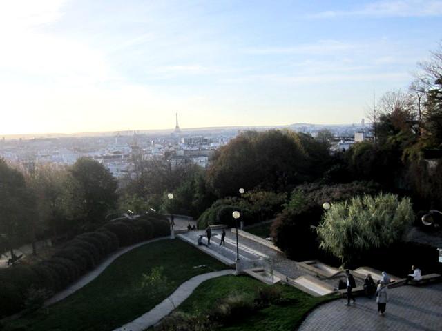 07 vue sur Paris et parc de Belleville