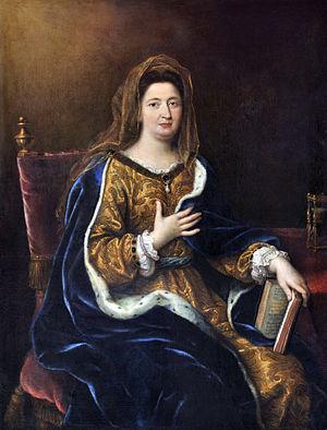 1694 Madame de Maintenon par Pierre Mignard
