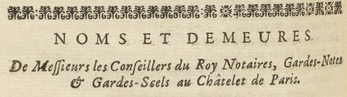 1729 almanach royal