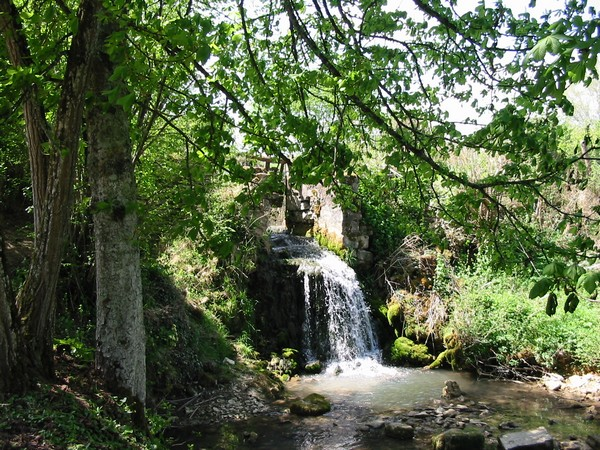 Cascade Ixeure moulin