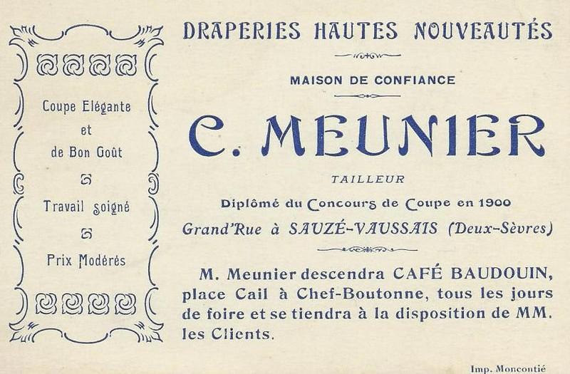 C. Meunier tailleur