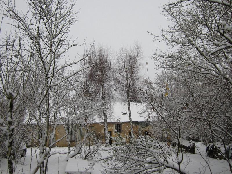 maison en hiver 2013