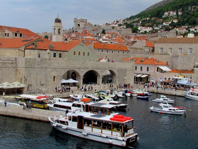 Dubrovnik vieux port
