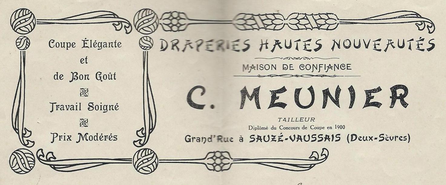 Entête tailleur 1914