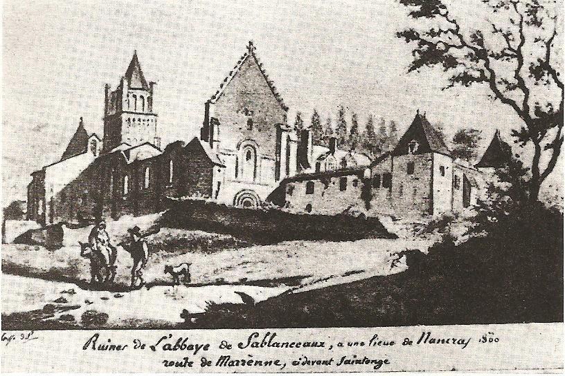Gravure Sablonceaux 1800