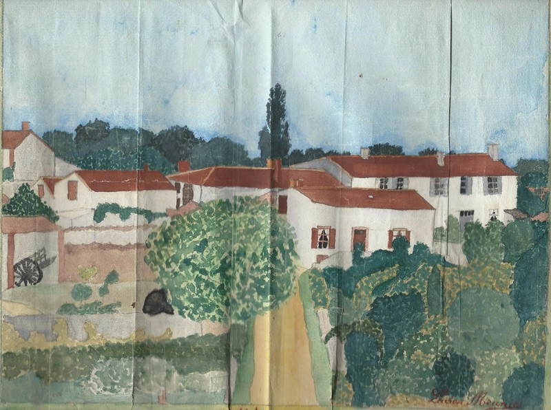 Peinture Lucien 1923