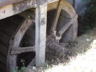 Roue moulin Bona