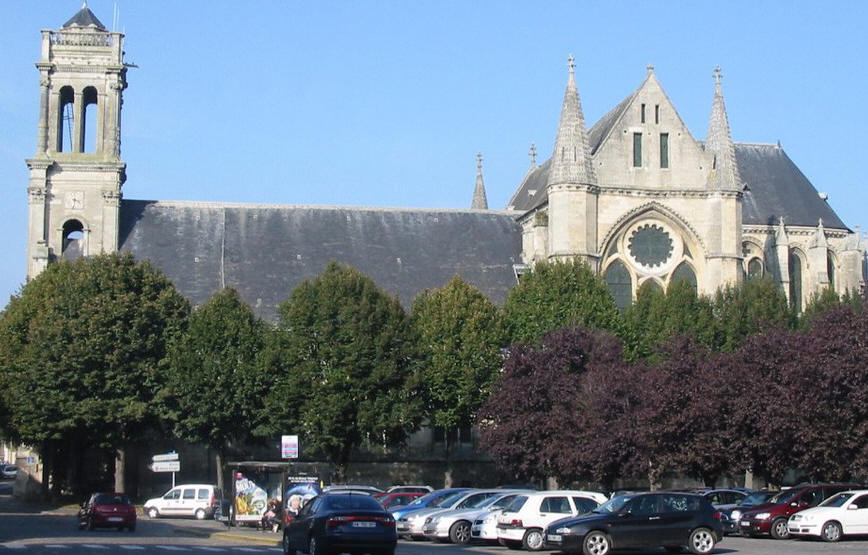 Soissons abbaye